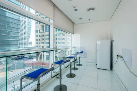 Office for Rent in Jumeirah Lake Towers (JLT), Dubai - Fitted Office | Low Floor | Close to Metro