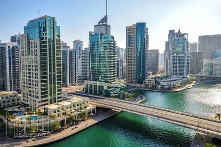 فلیٹ 1 غرفة نوم للبيع في دبي مارينا، دبي - One Bed | Rented | Good ROI | Marina View