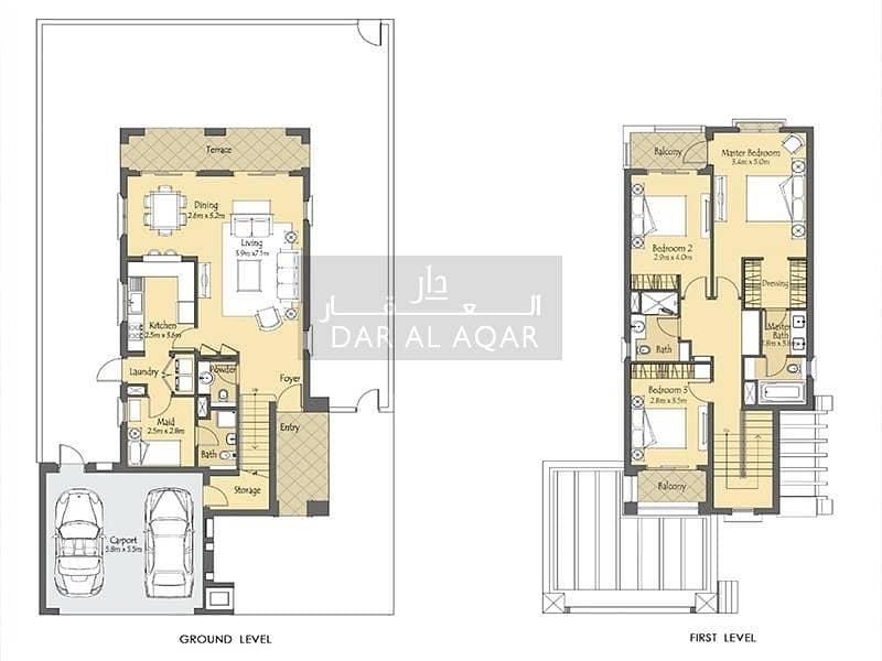 2 Single Row | Quiet and Premium Location