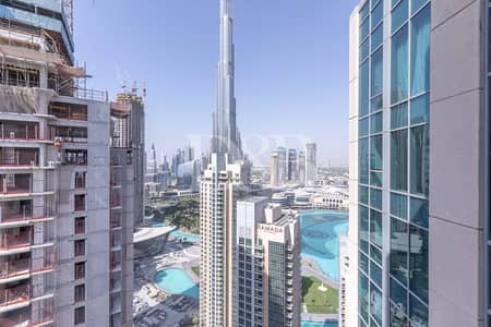 1 Bedroom Flat for Rent in Downtown Dubai, Dubai - Excellent Views   Great Condition   Vacant
