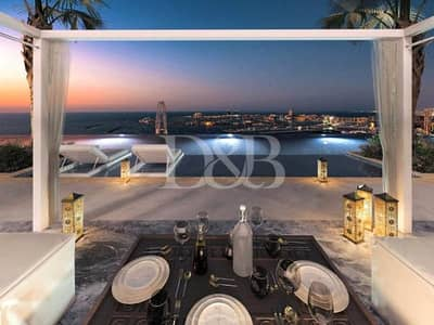 1 Bedroom Apartment for Sale in Jumeirah Beach Residence (JBR), Dubai - RESIDENTIAL TOWER 1BR | STUNNING MARINA VIEW
