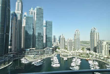 2 Bedroom Flat for Rent in Dubai Marina, Dubai - Marina View | Fully Furnished | Available