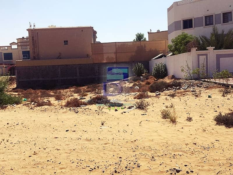 Land for sale in Ajman, Jasmine, excellent location