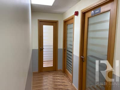 A high  end office with sound proof partitions for rent