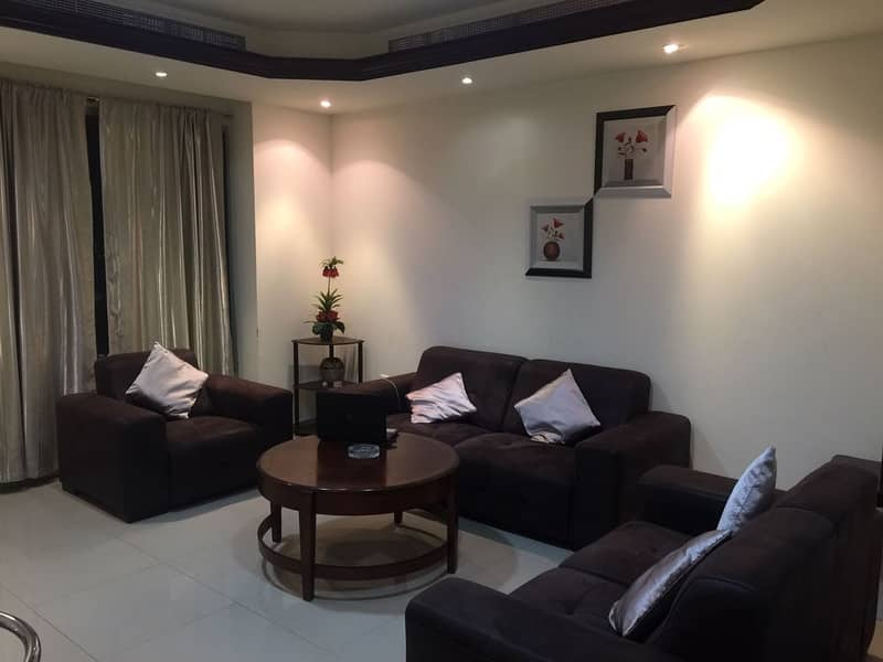 FOR RENT: 1BHK CHILLER FREE  +PARKING  FULLY FURNISHED IN AJMAN  CORNICHE TOWER  FULLY OPEN & CITY VIEW
