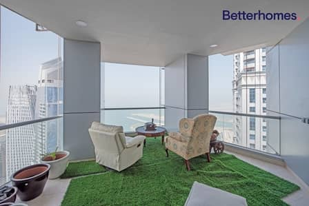 3 Bedroom Penthouse for Rent in Dubai Marina, Dubai - Penthouse|Breathtaking  View|Nice Layout|HighFloor