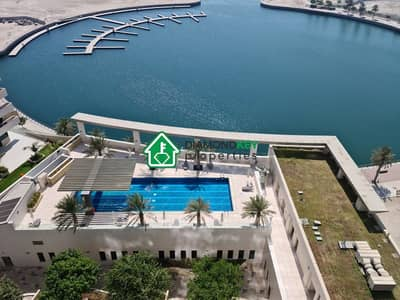 3 Bedroom Apartment for Rent in Al Reem Island, Abu Dhabi - Full Sea View with a balcony and 2 parking spots