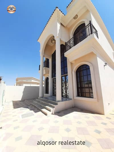 Villa for sale in Ajman, Al Mowaihat area, close to schools, excellent finishes, with the possibility of bank financing