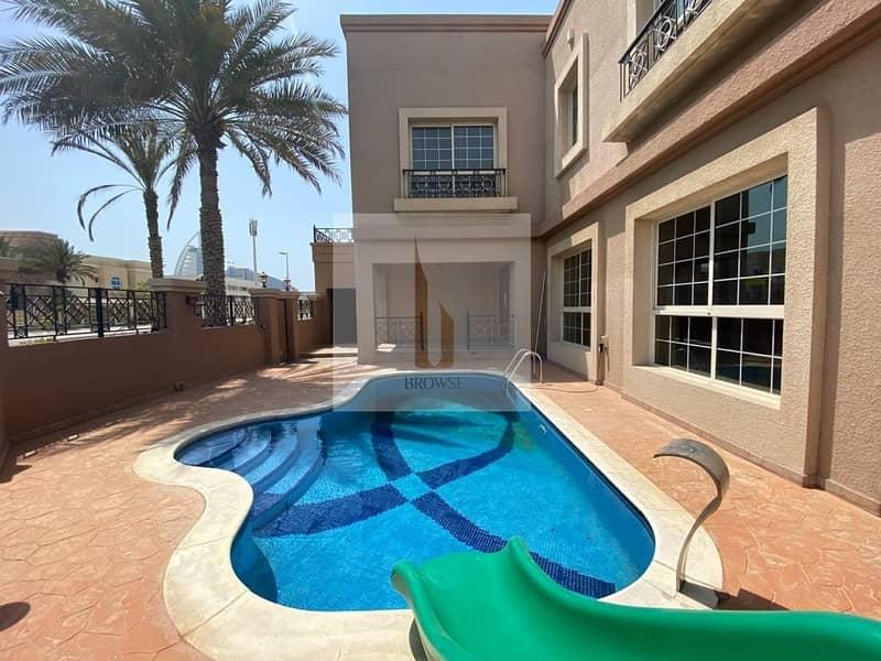 Independent Villa 4BR+Private Pool+Garden+Maids