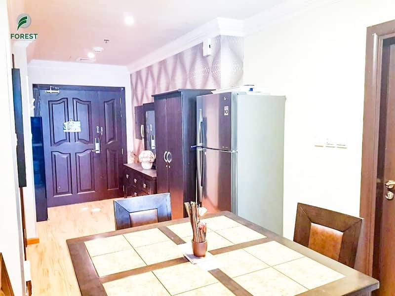 2 Upgraded |1 Bed | Fully Furnished | Marina View