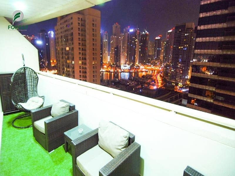 18 Upgraded |1 Bed | Fully Furnished | Marina View