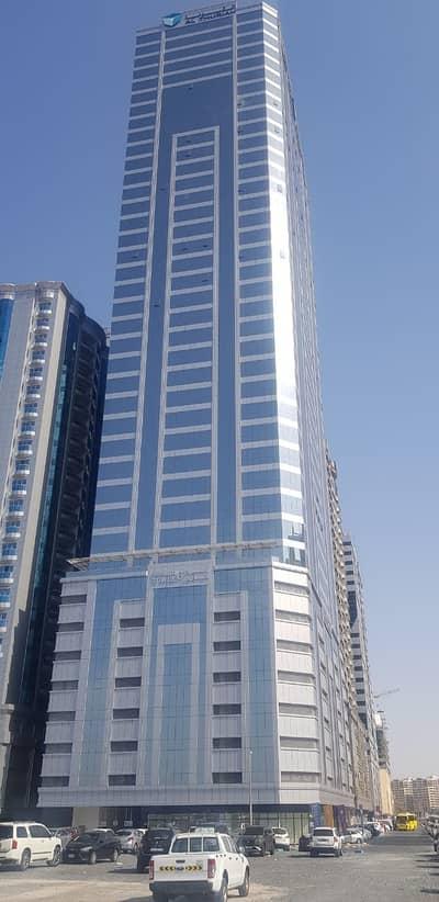 شقة 2 غرفة نوم للايجار في النهدة، الشارقة - للايجار في الشارقة منطقة النهدة  شقة  في برج صحاى 6