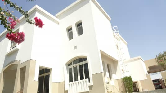 فیلا 3 غرف نوم للايجار في الغدیر، أبوظبي - SINGLE  ROW  MAINTENACE FREE 3+ MAID VILLA READY TO MOVE