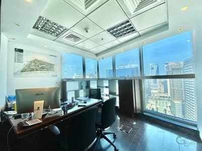 مکتب  للبيع في برشا هايتس (تيكوم)، دبي - Bright and Semi Furnished I High Floor I Nice View