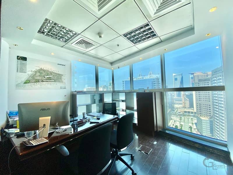 Bright and Semi Furnished I High Floor I Nice View