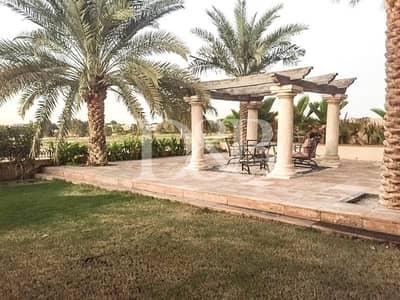 فیلا 7 غرف نوم للايجار في المرابع العربية، دبي - Bright | Full Golf Course View | Private Pool