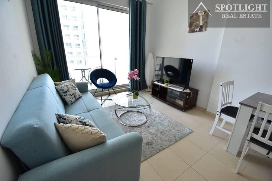 2 High Floor | Lake View | 1 Bedroom for rent | in Mayfair Residency