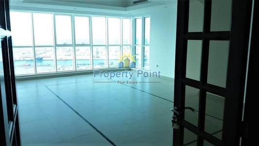 3 Bedroom Flat for Rent in Tourist Club Area (TCA), Abu Dhabi - Great Option In Mina Road | Sea View | Large 3-bedroom Unit with Maids Room | Facilities