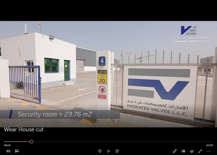 2 Warehouse with Complete Set Up For Sale in Mussafah ICAD for Aed 30 Million