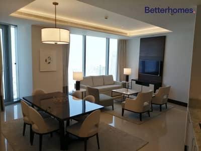 شقة فندقية 2 غرفة نوم للايجار في وسط مدينة دبي، دبي - Fully serviced/ brand new  hotel apartment