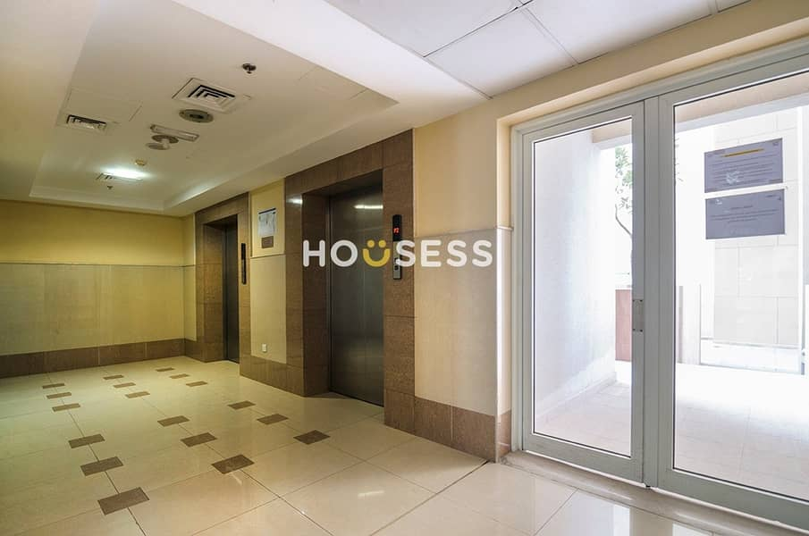 2 Large three bed with Maid room with Burj Khalifa partial view