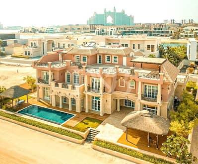 7 Bedroom Villa for Sale in Palm Jumeirah, Dubai - Custom Built Classic Design Masterpiece Must Sell