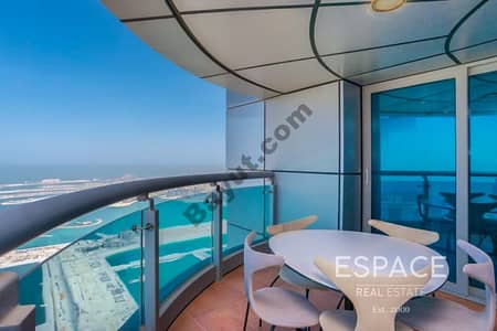Panoramic Sea and Palm View | VOT | Half Floor Penthouse