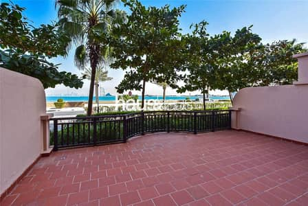 1 Bedroom Flat for Rent in Palm Jumeirah, Dubai - Full Sea View | 6 Cheques | Garden | Beach Access