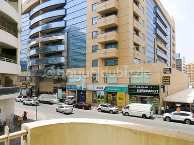 شقة 2 غرفة نوم للايجار في بر دبي، دبي - عرض خاص - شقة كبيرة خالية من المبردات بسريرين في المنخول مع نعمة لمدة شهر