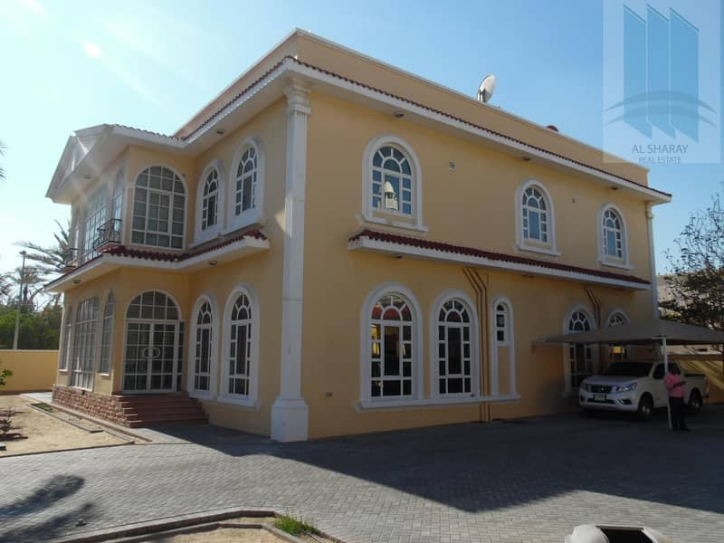 Fabulous 9 BR villa in prime location in Abu hail