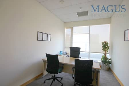 Office for Rent in Business Bay, Dubai - Almost Full Floor Office | Fully Fitted | Furnished
