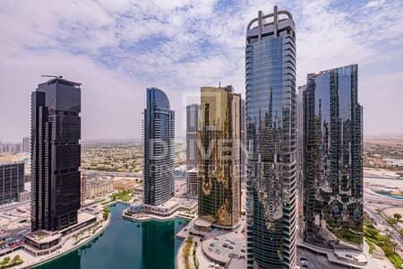 فلیٹ 1 غرفة نوم للايجار في أبراج بحيرات الجميرا، دبي - Luxury Upgraded and High Floor
