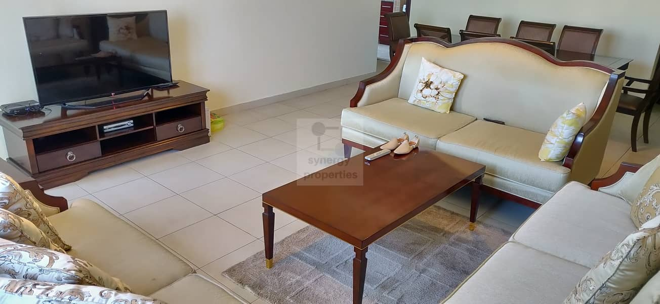 Superb Layout | 2 Br + Maids | Ready to move in