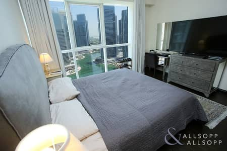 2 Bedroom Apartment for Rent in Jumeirah Lake Towers (JLT), Dubai - Two Bed | Vacant On Transfer | Lake View