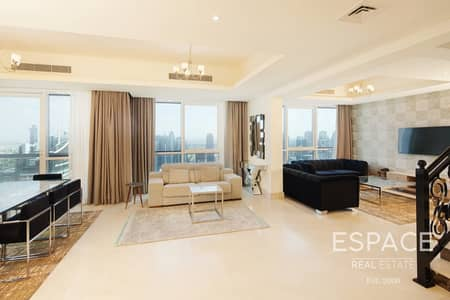 4 Bedroom Penthouse for Rent in Dubai Marina, Dubai - Luxury | Fully Furnished | Bills Included