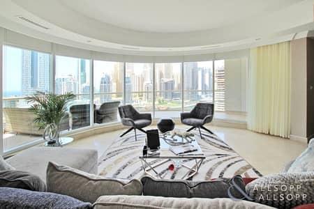 فلیٹ 3 غرف نوم للبيع في دبي مارينا، دبي - 3 Bed | Marina And Sea View | Vacant Soon