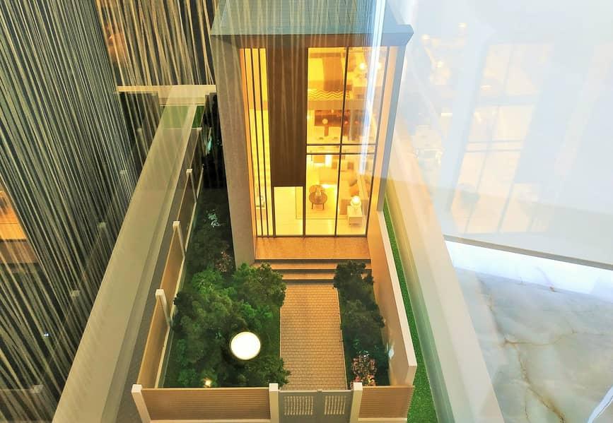 Phase 2: 1 Bedroom Townhouse loft + Front garden