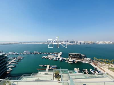 3 Bedroom Apartment for Sale in Al Raha Beach, Abu Dhabi - Elegant 3 BR Apt Full Sea View with Large Terrace For Sale