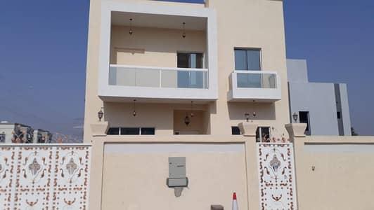 4 Bedroom Villa for Rent in Al Yasmeen, Ajman - Villa for rent in Ajmal, Jasmine, first inhabitant, super lux finishing