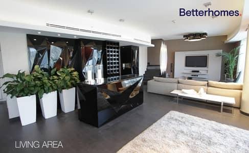 بنتهاوس 3 غرف نوم للايجار في دبي مارينا، دبي - Triplex | Private Jacuzzi | Furnished | High End Appliances