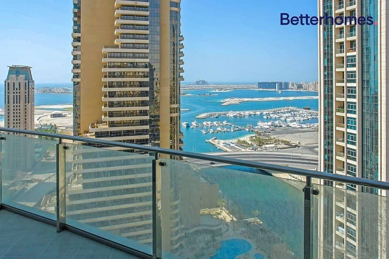 2 Balconies   Full Sea View   Fully Furnished