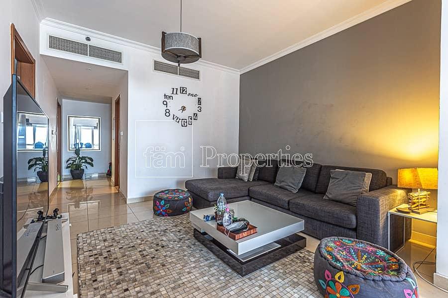 19 1BR Apartment | Unfurnished | Saba 2