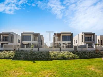 فیلا 4 غرف نوم للايجار في دبي هيلز استيت، دبي - SINGLE ROW | Corner Plot | Full Park View