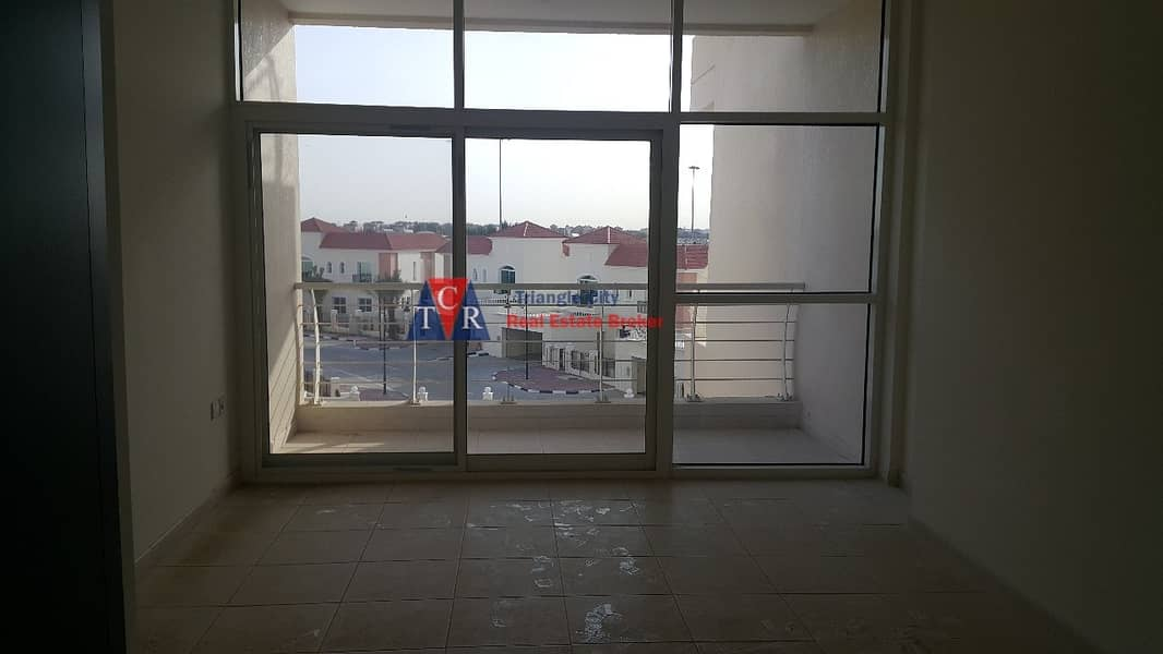 Urgent sale rented  studio with balcony in royal residence sports city