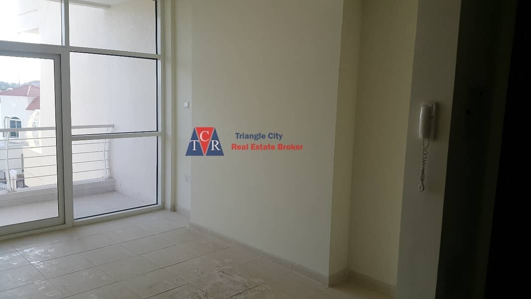 2 Urgent sale rented  studio with balcony in royal residence sports city
