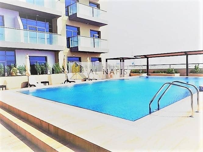 2 Fully Furnished Studio For Rent Pool View