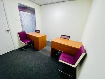 مکتب  للايجار في شارع حمدان، أبوظبي - Comfortable Place to Work and be Productive