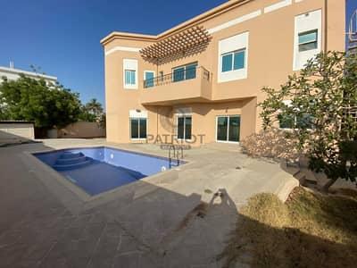 فیلا 4 غرف نوم للايجار في أم الشيف، دبي - Luxury 4 BR compound villa in AL Safa