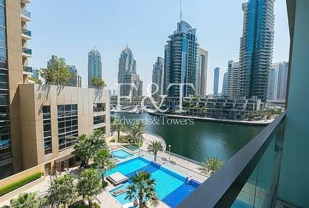 1 Bedroom Apartment for Rent in Dubai Marina, Dubai - Best Priced 1 Bed | Pool View | Low Floor