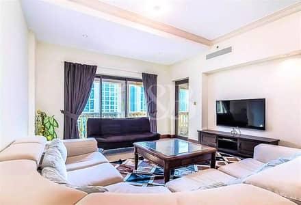 شقة 1 غرفة نوم للايجار في نخلة جميرا، دبي - Funished | 90K At 4 Chqs | 85K At 2 Chqs